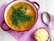 Рецепта Супа от кисело зеле и ориз